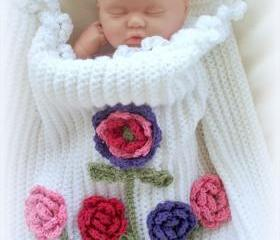 Roses Baby Girl Blanket